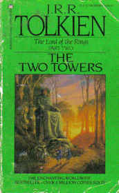 Cover of Tolkien's The Two Towers