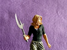 Photo of a doll of Buffy